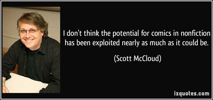 Scott McCloud's quote