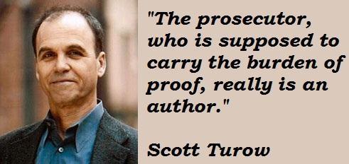 Scott Turow's quote #5