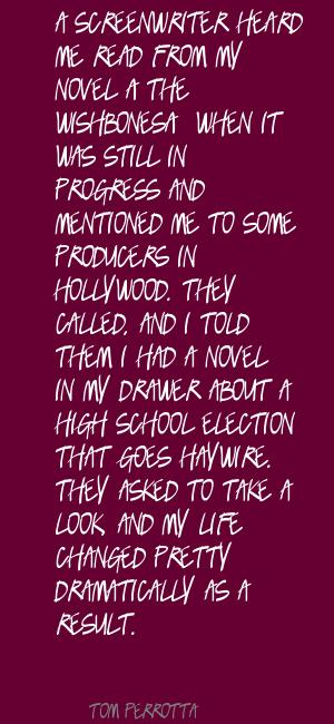 Screenwriter quote #2