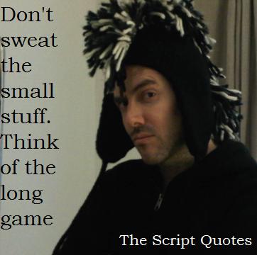 Script quote #6