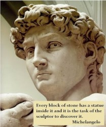 Sculptor quote #2