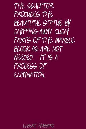 Sculptor quote #3