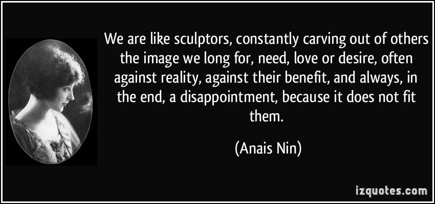 Sculptors quote #1