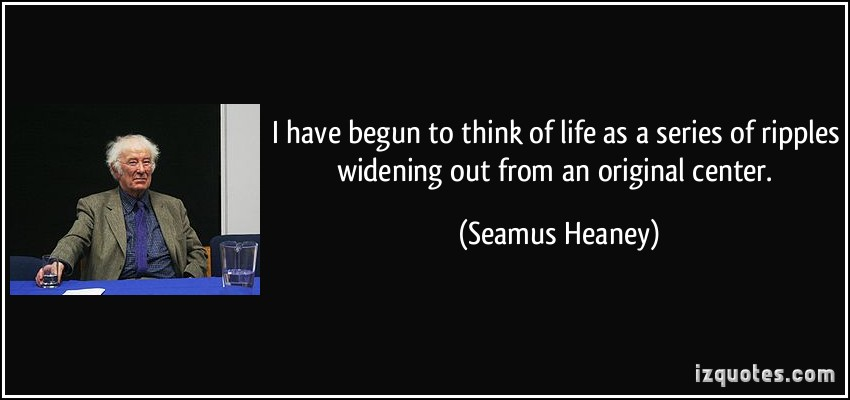 Seamus Heaney's quote #4