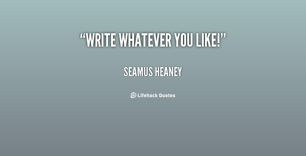 Seamus Heaney's quote #7