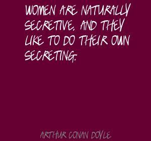 Secretive quote #1