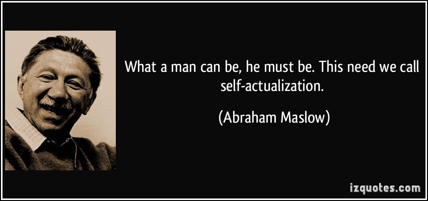 Self-Actualization quote #1