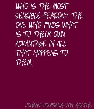 Sensible Person quote #1