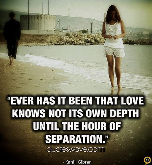 Separation quote #6