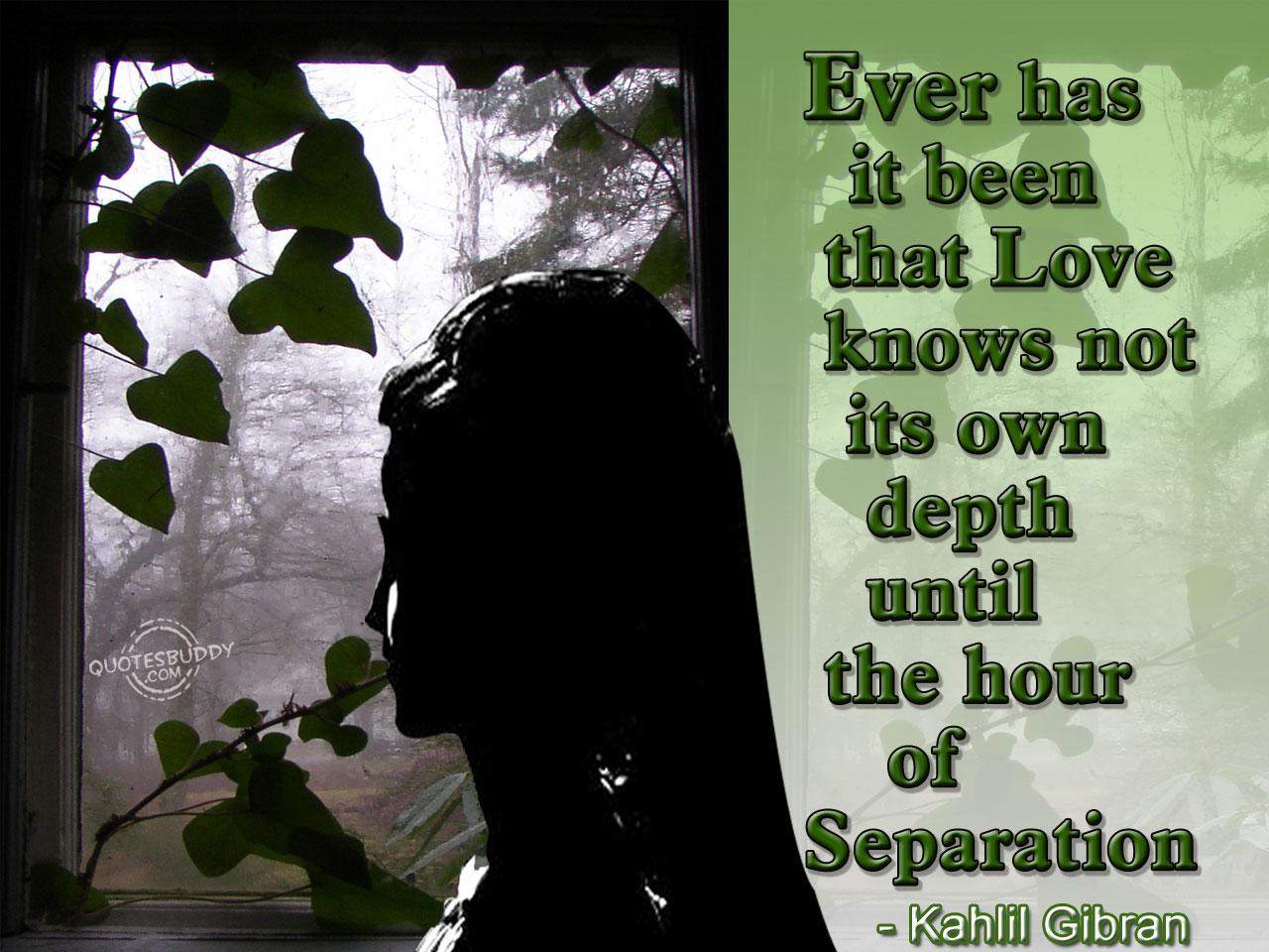 Separation quote #3