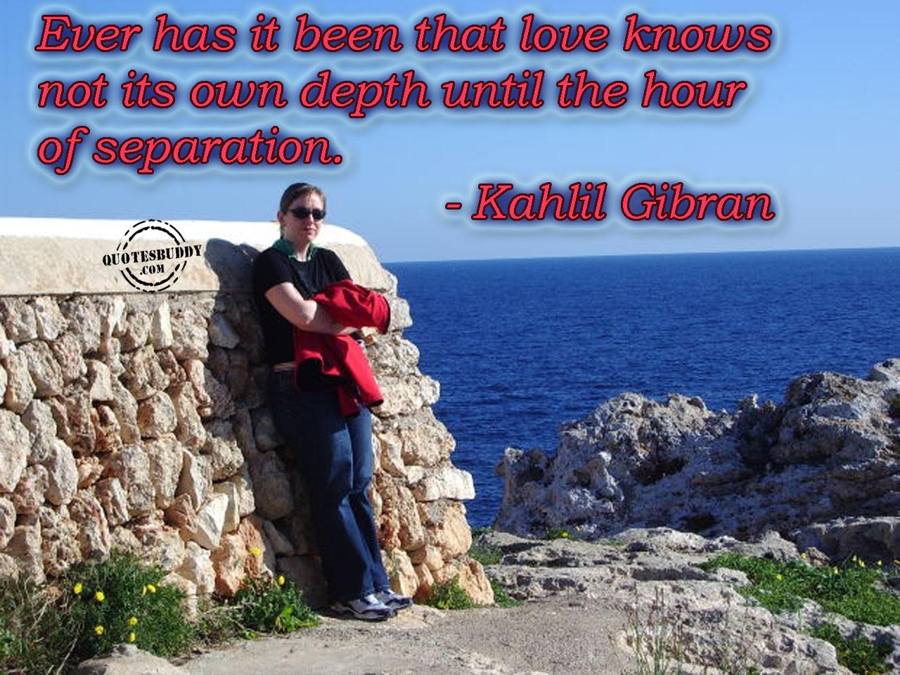 Separation quote #7