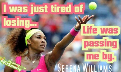 Serena Williams's quote