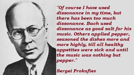 Sergei Prokofiev's quote #1