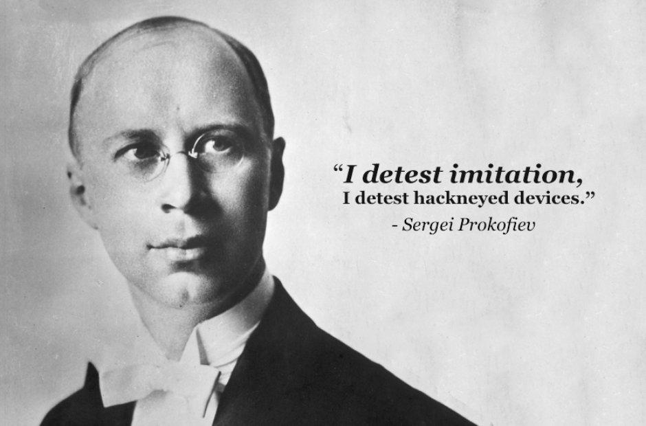 Sergei Prokofiev's quote #6