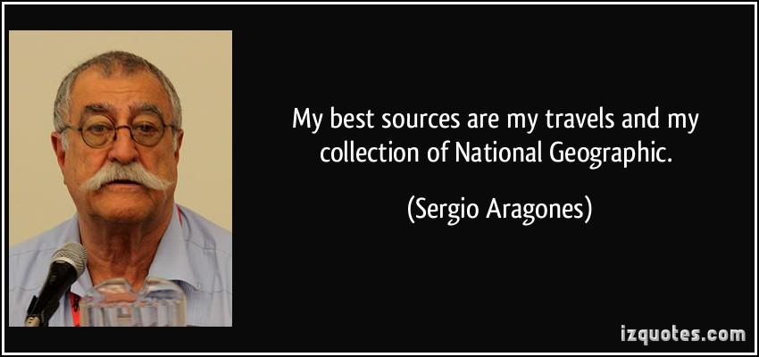 Sergio quote #1