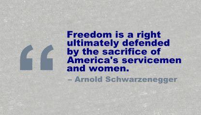 Servicemen quote #1