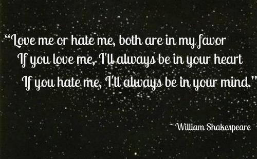 Shakespeare quote #1