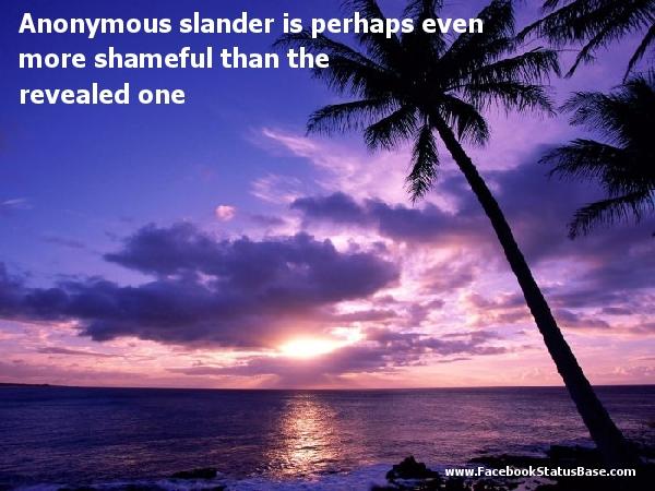 Shameful quote #4
