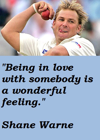 Shane Warne's quote