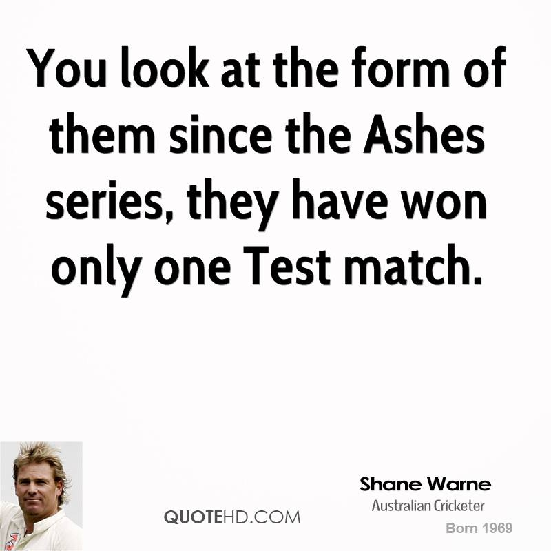 Shane Warne's quote #2
