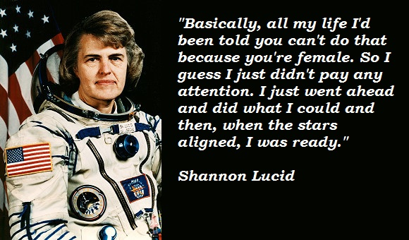 Shannon Lucid's quote #4