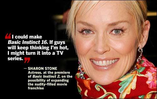 Sharon Stone's quote #7
