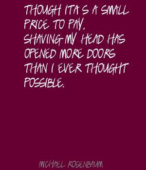 Shaving quote #1