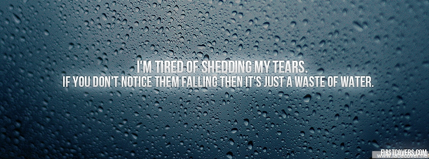Shedding quote #1