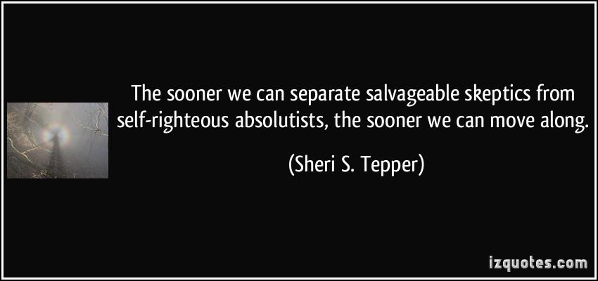 Sheri S. Tepper's quote #4