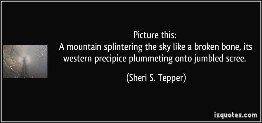 Sheri S. Tepper's quote #3