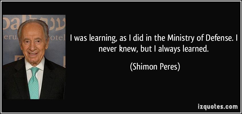 Shimon Peres's quote #1