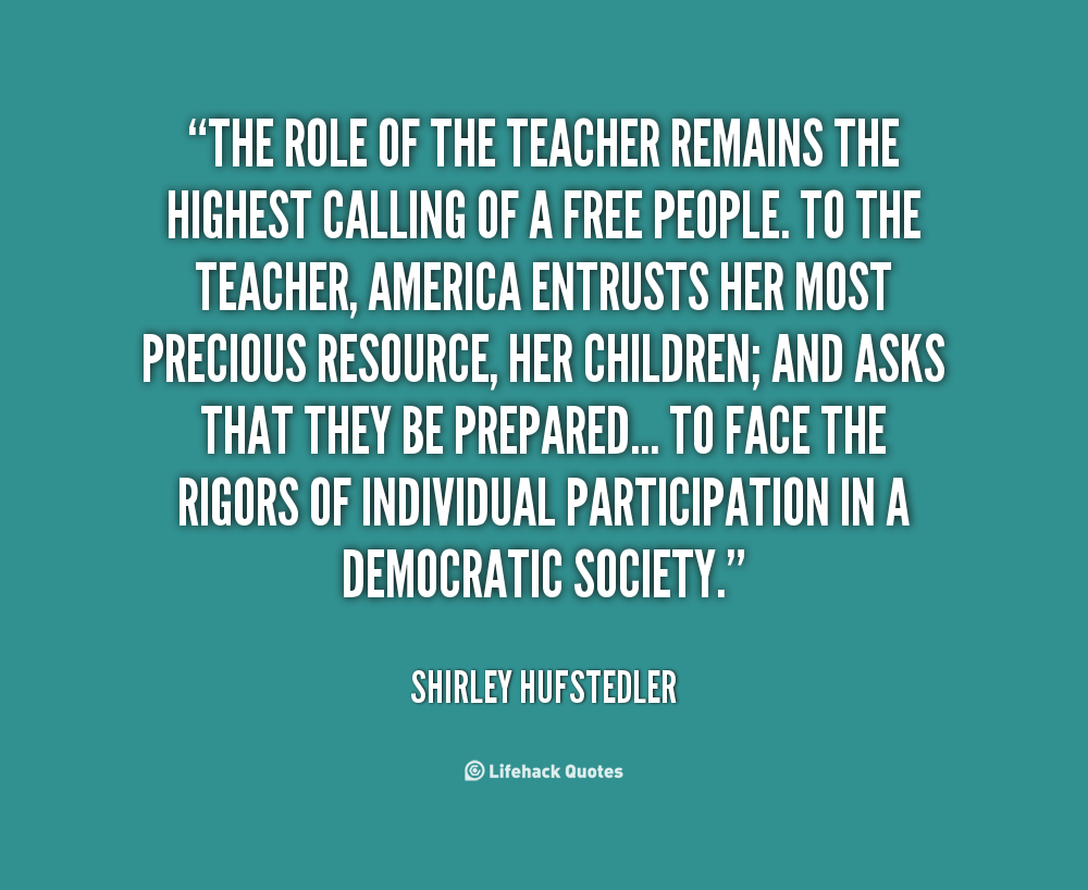 Shirley Hufstedler's quote
