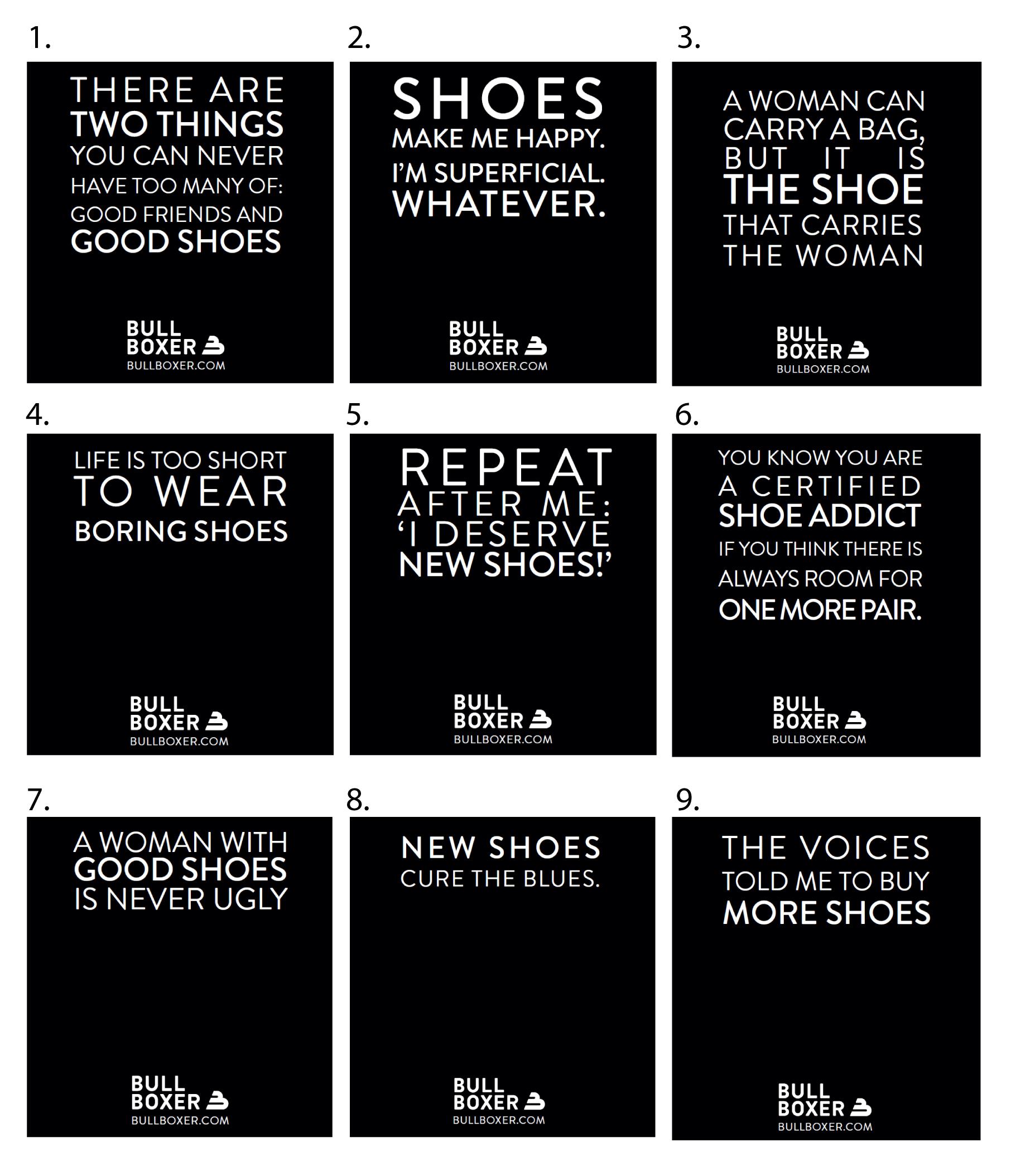 Shoe quote #3