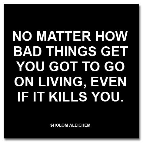 Sholom Aleichem's quote #2