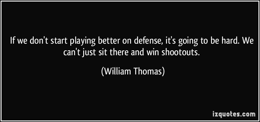 Shootouts quote #2