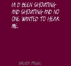 Shouting quote #1