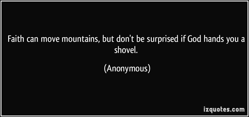 Shovel quote #2