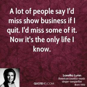 Show Business quote #2