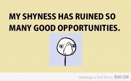 Shyness quote #3