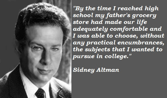 Sidney Altman's quote #4