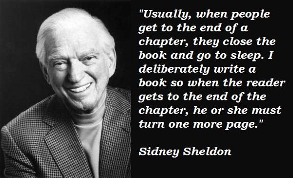 Sidney Sheldon's quote #1