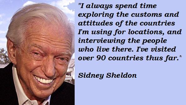 Sidney Sheldon's quote #2