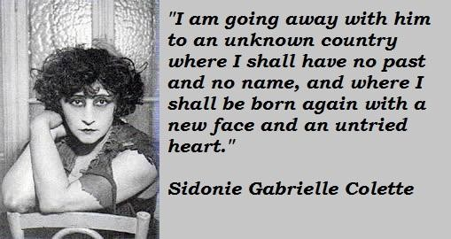 Sidonie Gabrielle Colette's quote #7