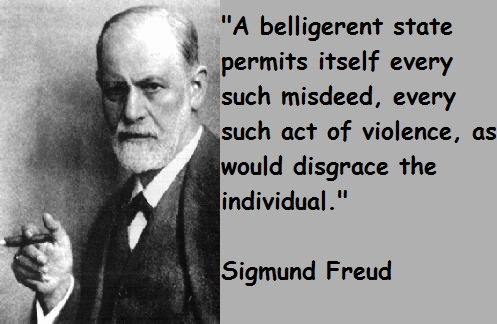 an overview of the two human instincts in why war by sigmund freud Civilization and its discontents by sigmund freud freud picks up human being at a much later time in evolutionary two central instincts are active in.