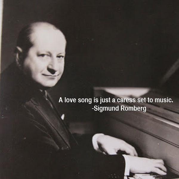 Sigmund Romberg's quote