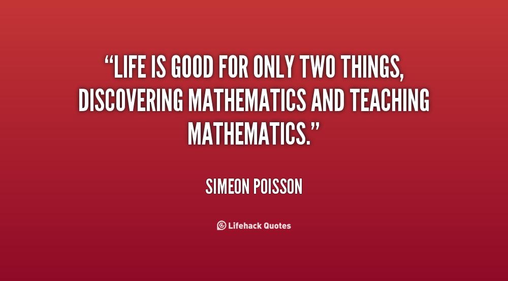 Simeon Poisson's quote #1