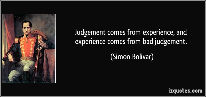 Simon Bolivar's quote #1