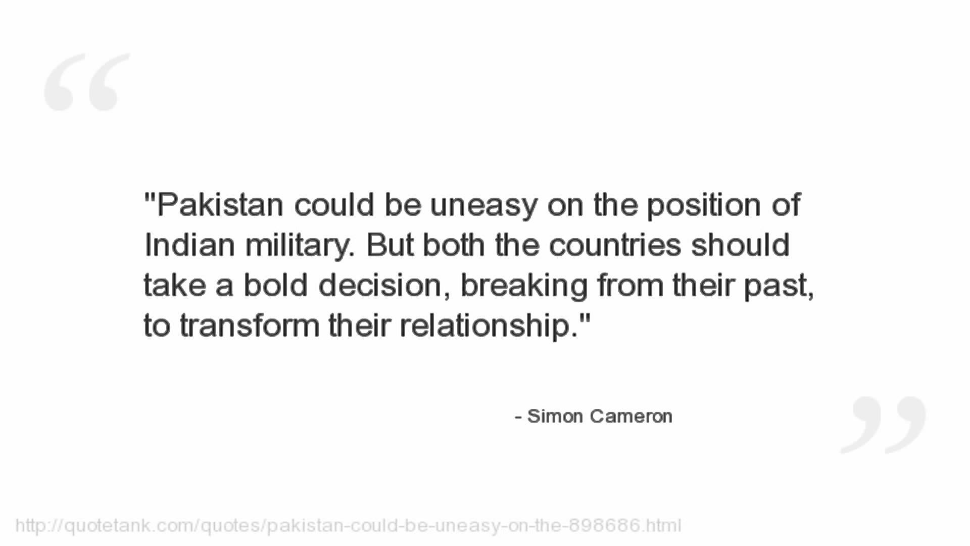 Simon Cameron's quote