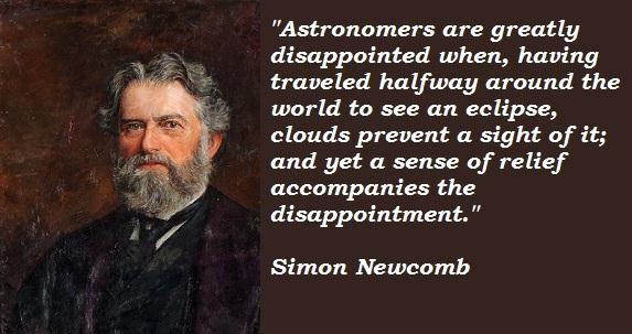 Simon Newcomb's quote #5