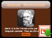 Simon Newcomb's quote #3